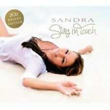 SANDRA - STAY IN TOUCH (DELUXE EDITION)  2 CD  22 TRACKS INTERNATIONAL POP  NEW!