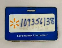 Walmart Employee Name Badge Tag