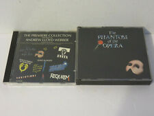 THE PHANTOM OF THE OPERA 1987 OST & ANDREW LLOYD WEBER PREMIER COLLECTION CD SET