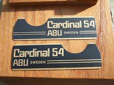 ABU Cardinal 54 Adesivi/Decalcomanie/distintivi