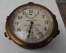 1943 21 Jewel Chronometer Hamilton Model 22 Deck Watch