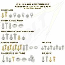 kit viti bulloneria plastiche KTM SX EXC SXF EXCF 125 250 300 450 Bolt motocross