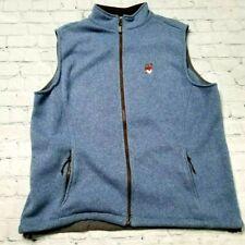 Peter Millar Element Warmth E4 Golf Vest Jacket XL Gray Full Zip Iowa State