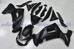 Body Kits for ER-6F 2009-2011 Plastic Fairings for ER-6F 09 10 Matter Black Red Line Plastic Fairings NINJA 650R 2011