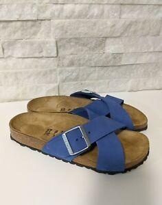 Birkenstock sandals blue comfortable shoes SIZE 37