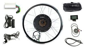 "27.5"" 48V 1000W Ebike Conversion Kit, LCD DISPLAY, Rear Wheel, 30MPH *G-VOLT*"