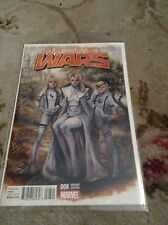 Marvel Secret Wars Issue #8 Variant Edition 2015 - Like Near Mint Condition