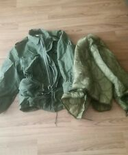 Vintage Sateen Og 107 Coat Vietnam Us Military Field Combat Jacket 1958. Medium