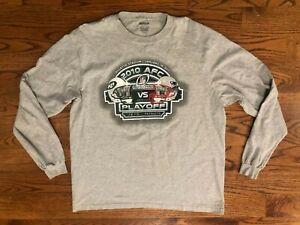 New England Patriots New York Jets 2010 Divisional Playoffs VTG Shirt Men's XL