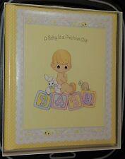 New Fill-In Memory Scrap Book Precious Moments/Hallmark Unisex Baby Shower Gift