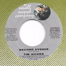 TIM MOORE 45 * On Second Avenue * MINT *1974 #58 * ORIG. on SMALL RECORD COMPANY