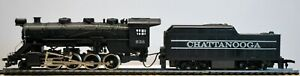 TYCO HO Scale 2-8-0 CHATTANOOGA Steam Locomotive & Tender  #638