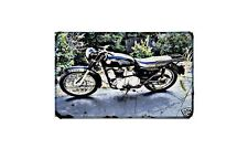 Ajs Matchless Model16 Motorbike A4 photo Retro Bike