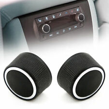1PC Control Knobs Audio Radio Escalade Enclave Tahoe for Chevrolet GMC NEW GH