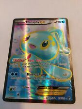 Pokemon: Manaphy EX Full Art - 116/122 - Ultra Rare - XY: BREAKpoint NM