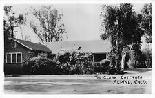 Real Photo Postcard The Clark Cottages in Alpine, San Diego, California~113663