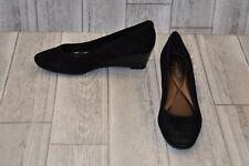 Easy Spirit Solna Wedge Shoes - Women's Size 8M - Black