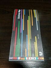 New York City Subway Map January 2001.Nyc Subway Map For Sale Ebay