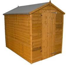 7x5 GARDEN SHED SINGLE DOOR APEX WINDOWLESS WOODEN SHEDS 7ft x 5ft New Un Used