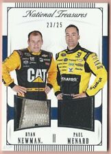 Paul Menard - Ryan Newman - 2016 Panini National Treasures Dual Driver Materials