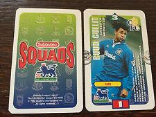 Subbuteo Squads 1996 Trading Card: Chelsea - RUUD GULLIT