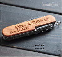 your name Swiss army knife custom Personal multi  tool out door Gift camp Sale