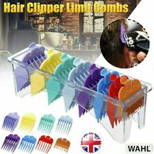 For Wahl Hair Clipper Limit Combs Guide Attachment 8 Sizes Replacement 8 Pcs