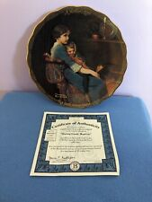 Sharing Gentle Moments By Norman Rockwell 4th Issue A Mothers Love w/Coa