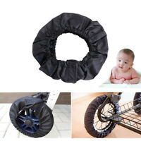 2Pcs Protector Baby Stroller Wheels Covers Anti-dirty Pram Buggy Accessories W0K