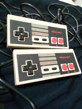 ONE OFF- Nintendo NES-004 Corded Pair of Controllers for Nintendo NES Circa 1987