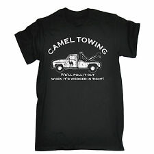 Camel Towing T-SHIRT Rude Offensive Naughty Explicit Top Funny birthday gift