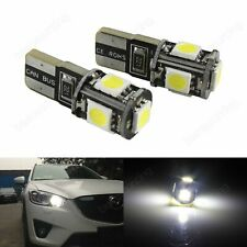 12V 5W PHILIPS SIDE LIGHT BULBS FOR Ford Focus C-Max WHITEVISION 501/'s FRONT