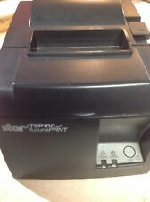 Star Tsp100 Thermal Pos Receipt Printer Tsp W Power Cord Amp Usb Cable