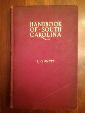 RARE 1907 Handbook of South Carolina, MAP, Agriculture, Geography Geology Mining