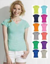Camisetas de mujer de manga corta color principal verde