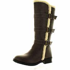 Kenneth Cole Reaction Girls Brown Dress Boots NIB Older Girls Size 5