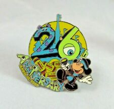 Disney Tokyo Disneyland Pin - 26th Anniversary - Monsters Inc Theme Mickey Mouse