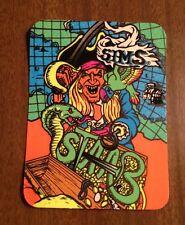 vintage skateboard sticker sims kevin staab clear powell schmitt skate NOS alva