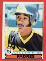 1979 Topps #116 Ozzie Smith EX+ ROOKIE RC San Diego Padres HOF FREE SHIPPING
