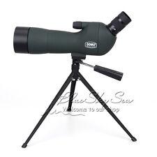 GOMU Advanced Optic Angled 20-60x60 Zoom Spotting Scope Monocular w/Focus Tripod
