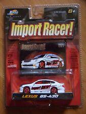 Jada Toys Diecast Import Racer Lexus GS-430 White MOC 1.64 2003