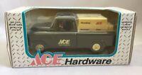1994 NIB Ertl Diecast Metal Coin Bank 1955 Chevy Ace Hardware Truck w/Lock 2920S