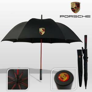 Porsche Design Automatic Premium Quality Golf Umbrella Brolly Black