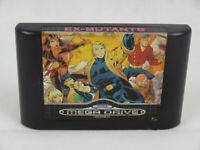 Ex Mutants Mega Drive Cartridge PAL