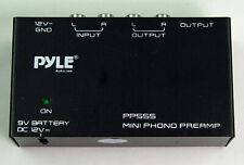 PYLE PP555 Mini Phono Preamp
