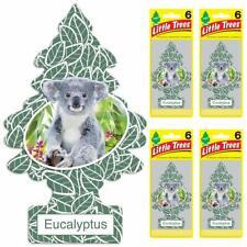 Little Trees Hanging Car, Home & Office Air Freshener, Eucalyptus (Pack of 24)