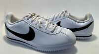 Nike Classic White Leather Cortez Sneakers Youth Size 5.5 New