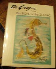 De Grazia Paints the Signs of the Zodiac 1971 Ltd Artists Proof Edition Signed