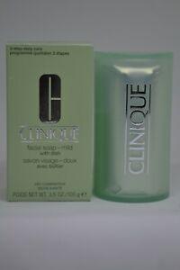 Clinique Facial Soap With Dish BNIB 3.5oz./100g ~choose your formula~