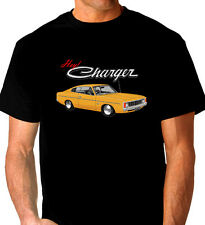 VALIANT  VJ  VK  CHARGER   QUALITY  BLACK TSHIRT    ( 7 CAR COLOURS )  BIG FIT